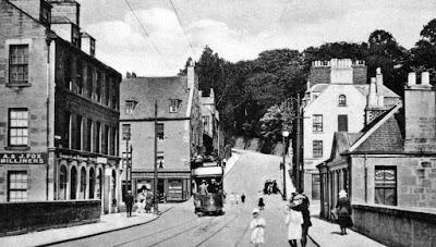 Old Photograph Tram Bridgend Perth Scotland.jpg