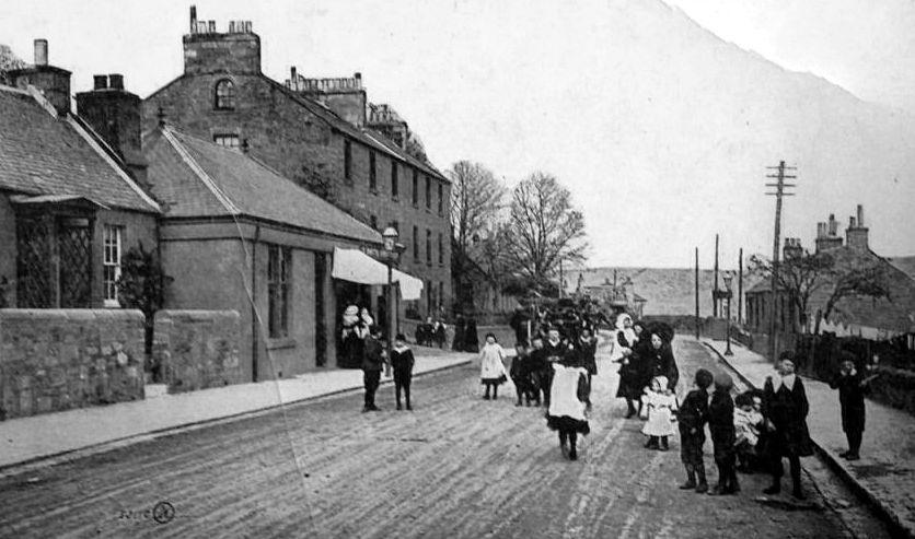 Old Photograph Cherrybank Perth Perthshire Scotland.JPG